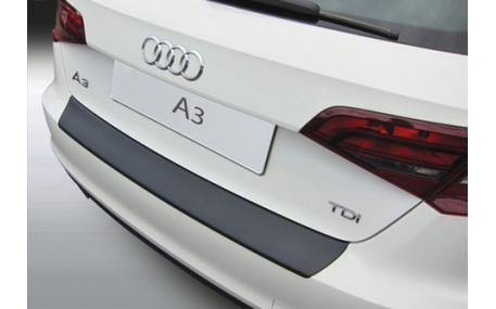 Накладка на задний бампер Audi A3 8V