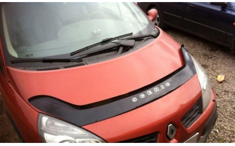 Дефлектор капота Renault Scenic