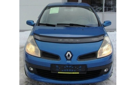 Дефлектор капота Renault Clio