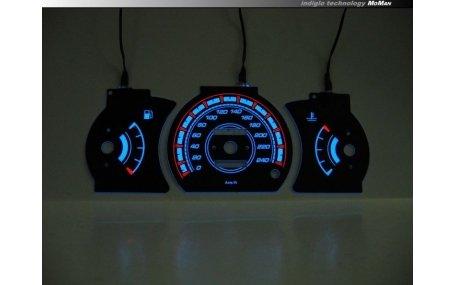 Шкалы приборов MitsubishiI Colt