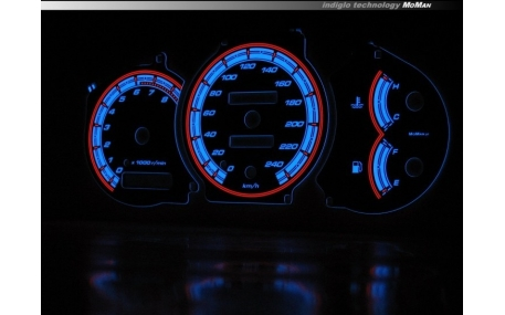 Шкалы приборов Toyota Celica