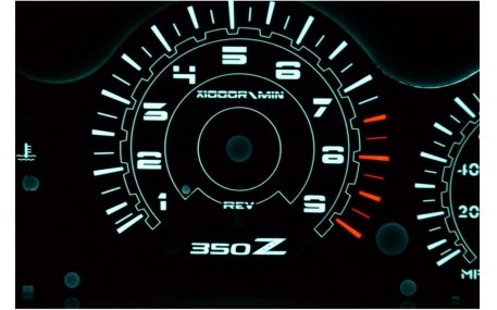 Шкалы приборов Nissan 350Z