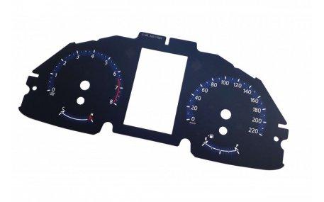 Шкалы приборов Toyota C-HR