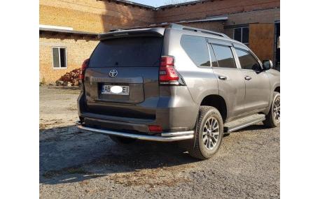 Защита задняя Toyota Land Cruiser Prado 150