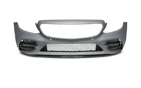 Бампер передний Mercedes С-class W205