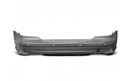 Бампер задний Mercedes E-class W211